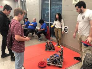 Students got hands-on exposure to potential careers at Central AlabamaWorks' Career Discovery in Montgomery. (contributed)