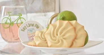 Key lime cookies provide a new taste sensation. (Contributed)