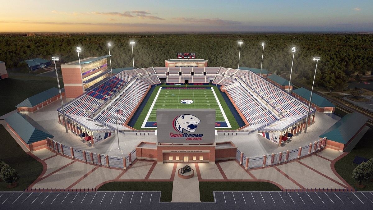 Michelob Ultra Terrace announced for new University of South Alabama stadium