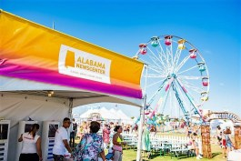 The 2019 Hangout Music Festival brought big crowds, hot new musical acts and fun ranging from roller skating to Ferris wheel rides. (Nik Layman / Alabama NewsCenter)