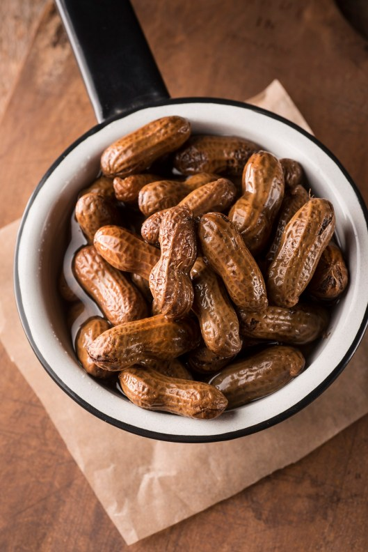 Boiled peanuts are a Southern favorite. (Getty Images)