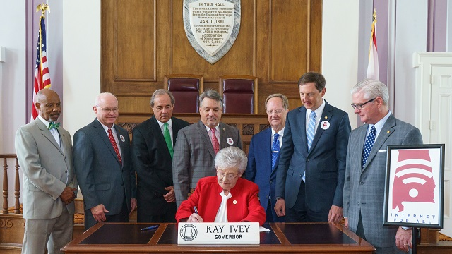 Governor signs bills to boost broadband access in rural Alabama