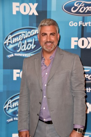 "Singer Taylor Hicks attends FOX's ""American Idol"" finale of the farewell season at Dolby Theatre on April 7, 2016 in Hollywood. (Photo by Alberto E. Rodriguez/Getty Images)"