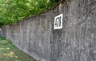 The deepest part of the original outfield wall is 478 feet from home plate. (Solomon Crenshaw Jr./Alabama NewsCenter)
