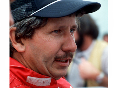 Ensley native Neil Bonnett (1946-1994) was a member of the Alabama Gang, popular NASCAR drivers based out of Hueytown that included the Allison brothers. Bonnett won 18 NASCAR events before dying during a practice session at Daytona International Speedway. (From Encyclopedia of Alabama, courtesy of The Birmingham News)