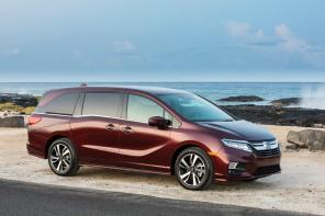 The Alabama-built Honda Odyssey is one of the most American-made vehicles sold in the U.S. (Honda)