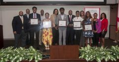 AABE members and Alabama Power employees join scholarship recipients. (Billy Brown)