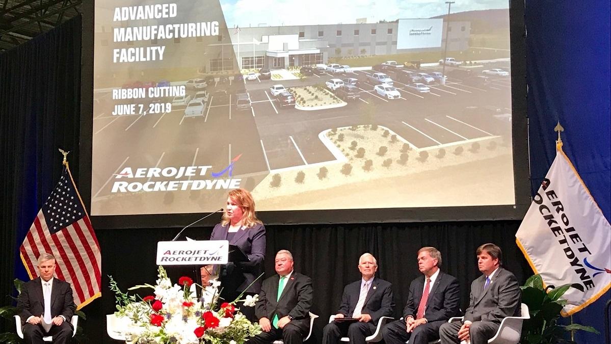 Aerojet Rocketdyne opens Alabama advanced manufacturing facility