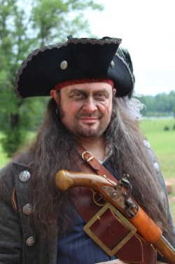 Meet Israel Hands, one of Blackbeard's Pirates. (Contributed)