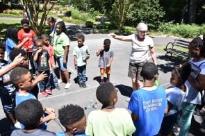 Birmingham Botanical Gardens is one place BSI students visit every summer. (Dury Shamsi-Basha/Alabama NewsCenter)