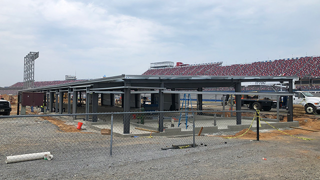 First new buildings going up in Talladega Superspeedway infield makeover