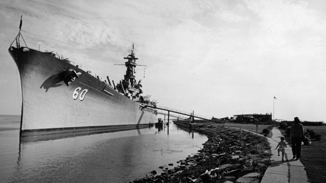 On this day in Alabama history: U.S. Navy signs over USS Alabama to state