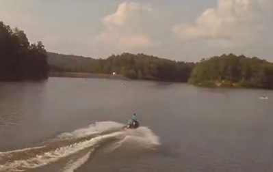 Enjoy Fire on the Water at Oak Mountain State Park July 3. (Video and photos by Jeremy and Kristin Talbot/Flipside Watersports)