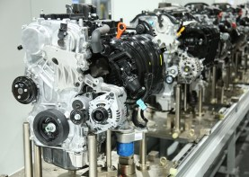 Hyundai engines at its new $388 million engine plant in Montgomery. (HMMA)