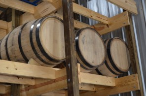 Gibson Distilling's spirits age as demand for them rises. (Michael Tomberlin/Alabama NewsCenter)