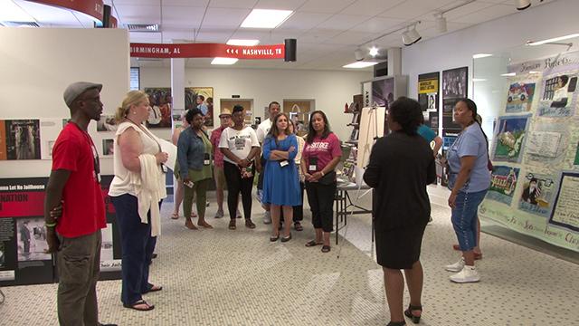 Teaching teachers Alabama's civil rights stories