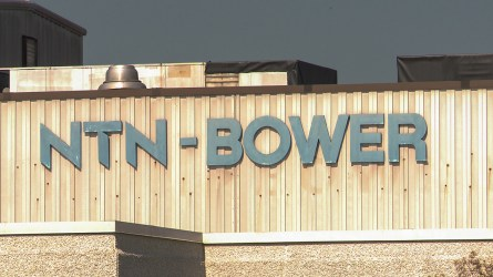NTN-Bower opened a manufacturing plant in Hamilton in 1973. (Dennis Washington / Alabama NewsCenter)