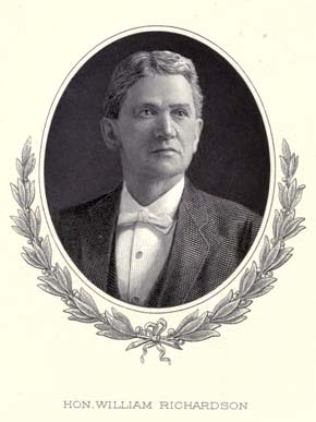 Athens native William Richardson (1839-1914) served Alabama as a judge, state senator and U.S. representative. (Encyclopedia of Alabama)