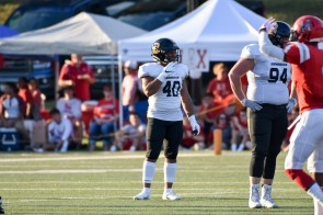 Myles Myers is one of two all-conference inside linebackers on the Birmingham-Southern roster this season. (Birmingham-Southern Athletics)