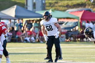 Garrett Stevens is one of two all-conference inside linebackers on the Birmingham-Southern roster this season. (Birmingham-Southern Athletics)