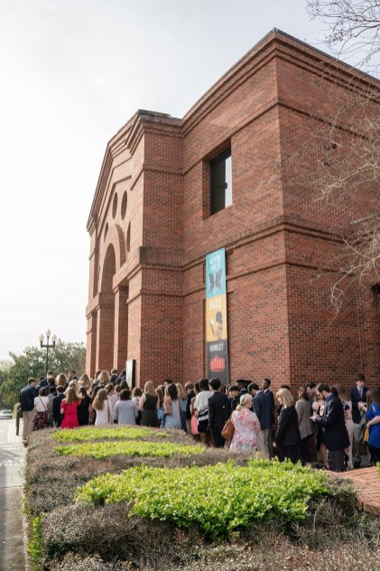 Students gather for a performance at the Alabama Shakespeare Festival through ASF's SchoolFest program. (Alabama Power Foundation)