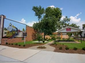 A grant helped city leaders renovate McArthur Park in downtown Ashford. (Dennis Washington / Alabama NewsCenter)