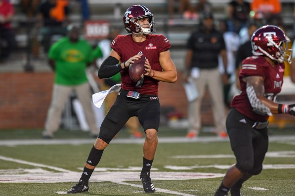 Senior quarterback and team leader Kaleb Barker is back from an injury and ready to play. (Troy University Athletics)