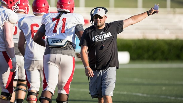 Coach Brett Gilliland believes his West Alabama team has a shot at an outstanding season if his key players stay healthy. (West Alabama Athletics)