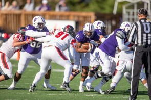 Running back Terence Humphrey is one of the team's leaders for UNA. (University of North Alabama Athletics)