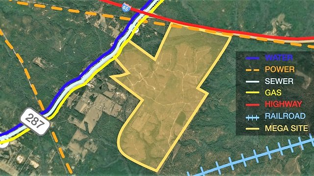 Baldwin County 'Mega Site' getting $5M in improvements from Alabama Power, CSX
