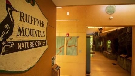 Inside the Ruffner Mountain Nature Center (Dennis Washington / Alabama NewsCenter)