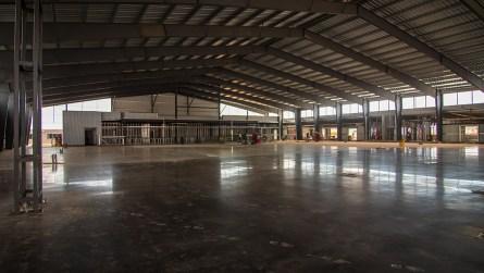 Inside the Open Air Club at the Talladega Superspeedway. (Dennis Washington / Alabama NewsCenter)