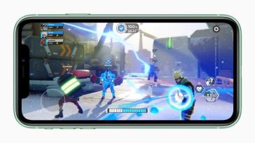 Gaming is expected to be improved on the iPhone 11. (Apple)