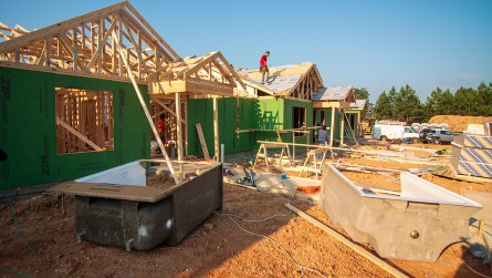 The Greater Birmingham chapter of Habitat for Humanity built 14 homes in this year's Home Builders Blitz to celebrate its 14th anniversary. (Dennis Washington / Alabama NewsCenter)