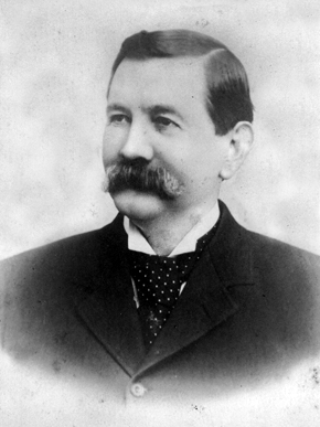 Henry DeBardeleben (1840-1910) was a pioneering Alabama industrialist. He was a ward of industrialist Daniel Pratt and in 1863 married his daughter, Ellen Pratt. DeBardeleben held many positions in the Pratt Company, including management of the reconstruction of the Oxmoor furnace in Birmingham in the early 1870s. (From Encyclopedia of Alabama, courtesy of Birmingham Public Libraries)