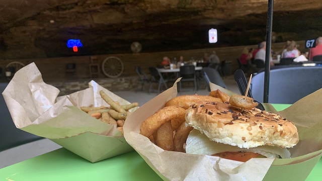 Alabama's Rattlesnake Saloon is a restaurant with a truly cavernous dining room