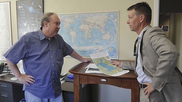 Roger Mangham of the Nature Conservancy is an Alabama Bright Light