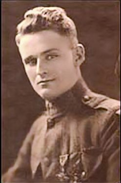 A young William March is pictured in his Marine Corps uniform. The author and businessman served in France during World War I. (From Encyclopedia of Alabama, Courtesy of the U.S. Government)