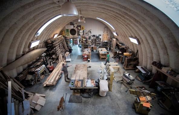 Wood Studio in Arley. (Bernard Troncale Photos)