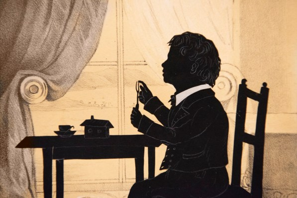 """""""Black Out: Silhouettes Then and Now"""" explores the diversity of the art form, both historically and in the hands of innovative modern artists. (Phil Free/Alabama"""