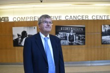 For the past 25 years, Dr. Edward Partridge of the O'Neal Comprehensive Cancer Center at UAB has been working to reduce disparities in cancer outcomes in Alabama's Black Belt, with remarkable results. (Karim Shamsi-Basha/Alabama NewsCenter)