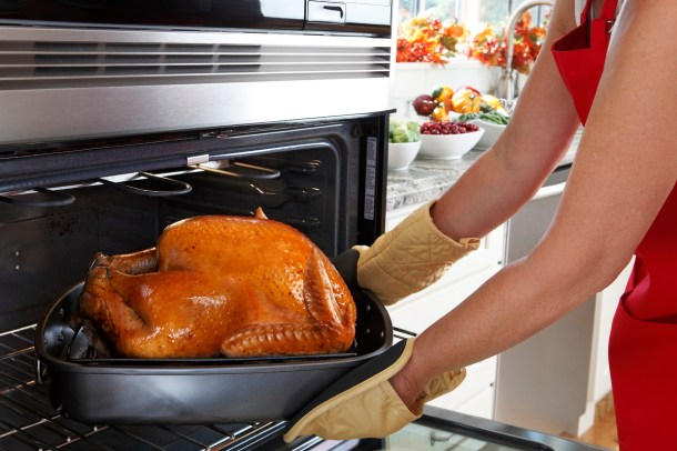 Never leave home while a turkey is cooking in the oven. (Getty Images)