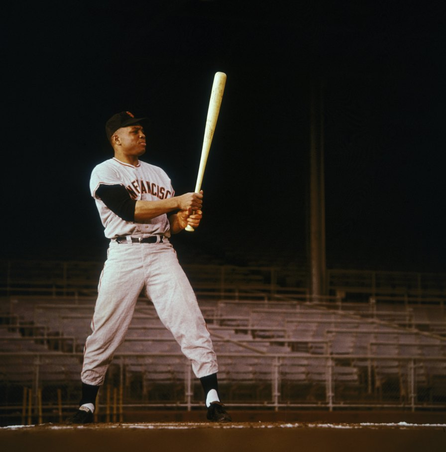 American baseball player Willie Mays of the San Francisco Giants, circa 1965. (Photo by Archive Photos/Getty Images)