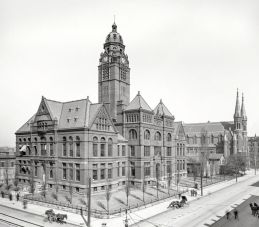 Photograph of the Jefferson County Courthouse, 1889. (Bhamwiki)