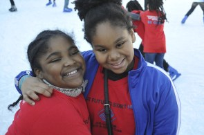 Children from the A.G. Gaston Boys & Girls Club enjoy an afternoon of playtime. (Karim Shamsi-Basha/Alabama NewsCenter)