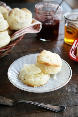 Start the day with a buttery biscuit hot out of the oven. (Southern Bite)