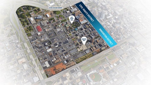 The strategy will link growth efforts for both the Civil Rights District and the Innovation District. (contributed)
