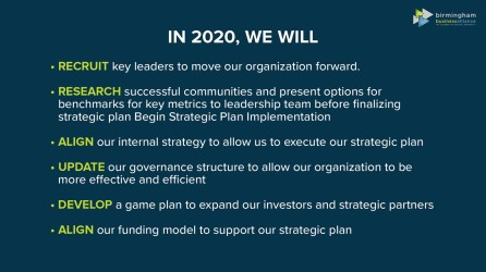 The BBA presented its goals for 2020. (BBA)