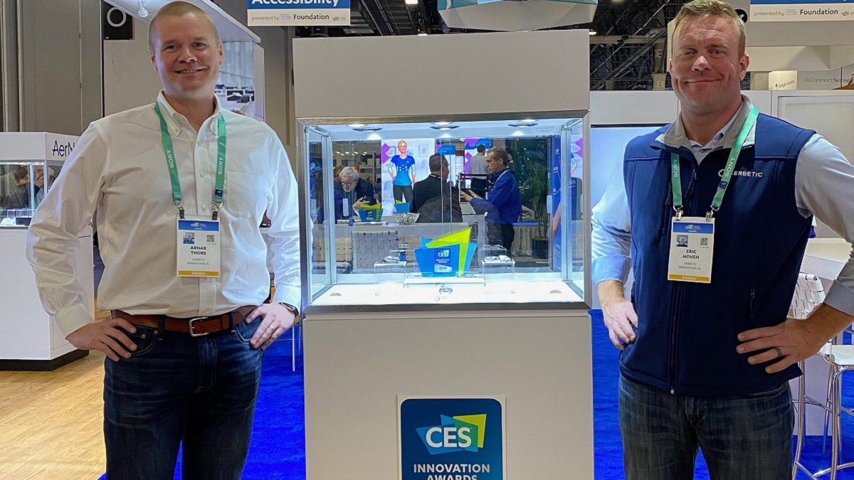 Alabama's AerBetic collects Innovation Award at CES 2020 tech show