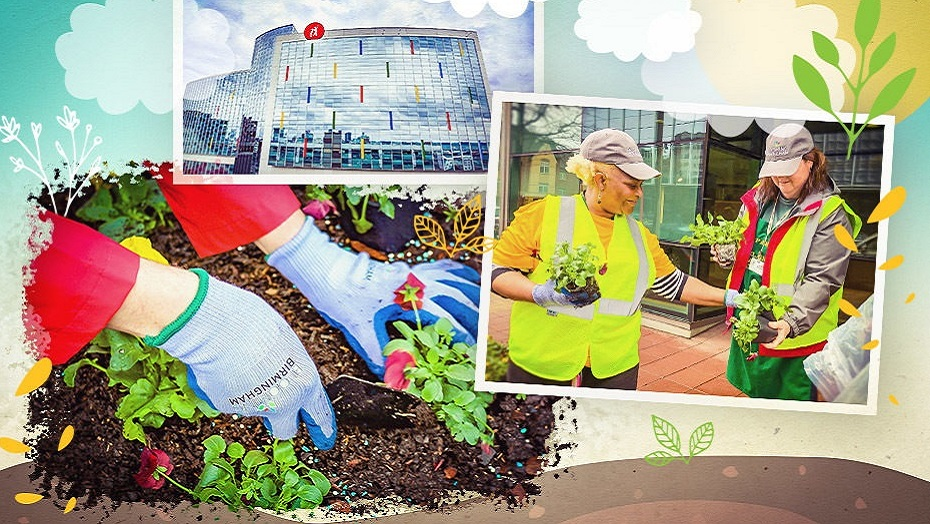 Blooming Birmingham connects two community treasures with flowers